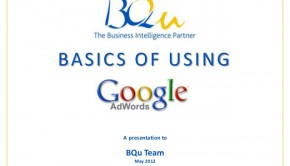 The basics of using Google Adwords