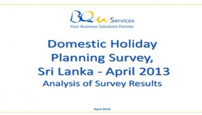 Slideshare: Results of the domestic holiday planning survey, April 2013